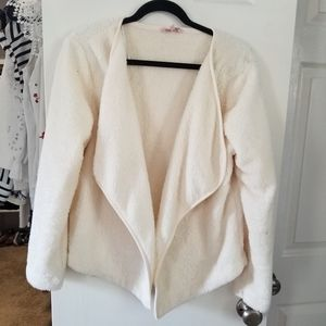 Sherpa Jacket Juicy Couture cream large